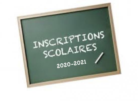 Inscriptions scolaires nouveaux CP et nouveaux élèves
